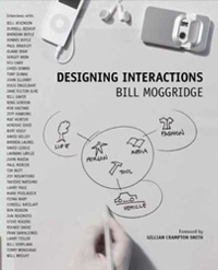 Book cover for Designing interactions by Bill Moggridge