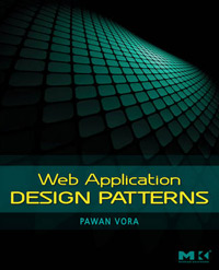 Book cover for Web Application Design Patterns by Pawan Vora- a book for interaction designers