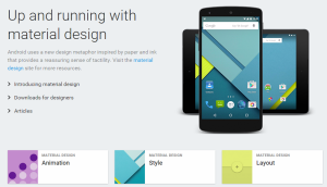 Android User Interface Guidelines