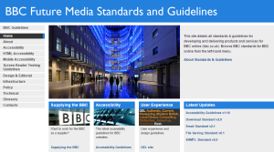 bbc future media standards and guidelines
